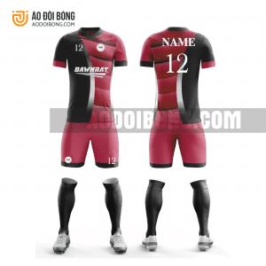 Áo đội bóng đá thiết kế màu đỏ đẹp tại yên bái ADBTK52